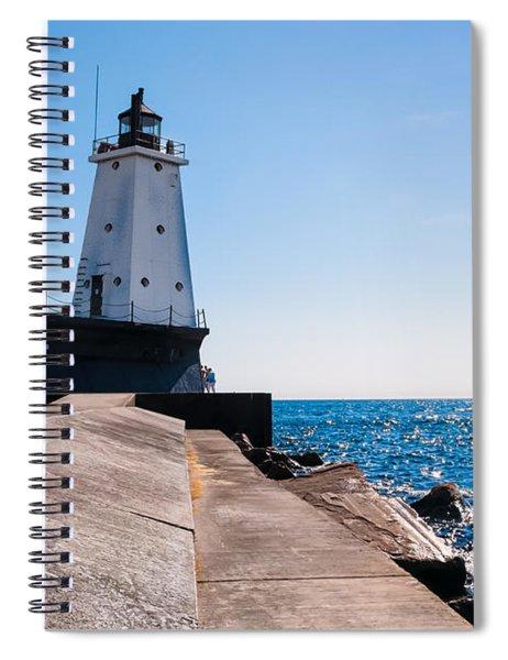 Ludington Lighthouse Spiral Notebook