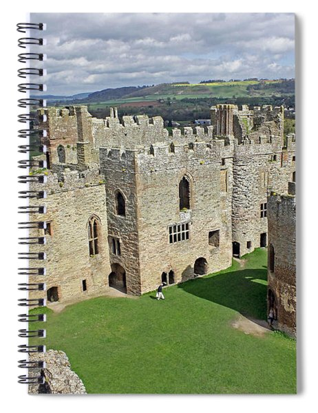Ludlow Castle Chapel And Great Hall Spiral Notebook