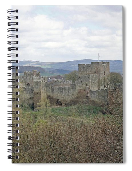 Ludlow Castle Spiral Notebook