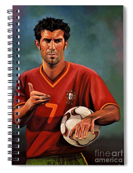 Luis Figo Spiral Notebook
