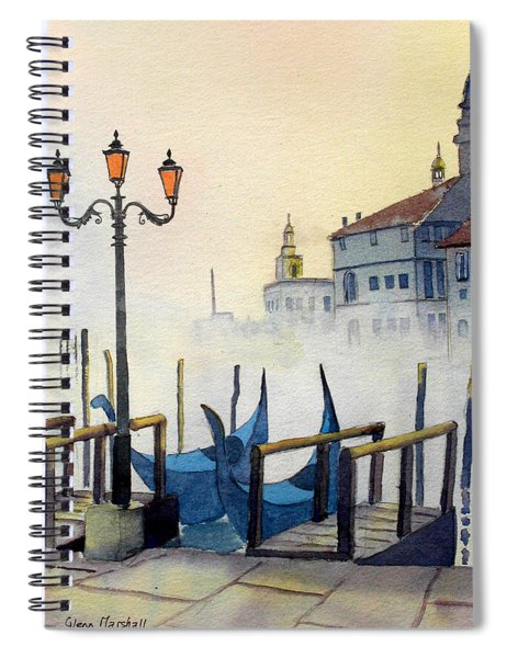 Lumi Di Candelbro Spiral Notebook