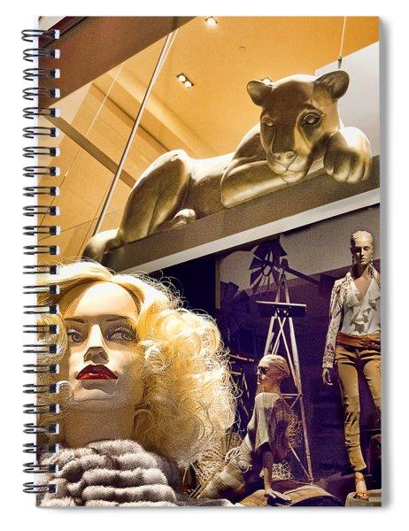 Luna Goes Shopping Spiral Notebook