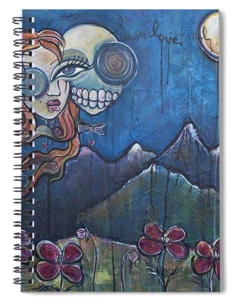Luna Our Love Eternal Spiral Notebook