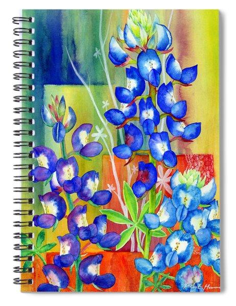 Lupinus Texensis Spiral Notebook