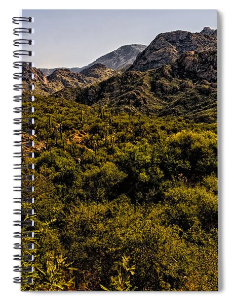 Lush Foothills No.1 Spiral Notebook