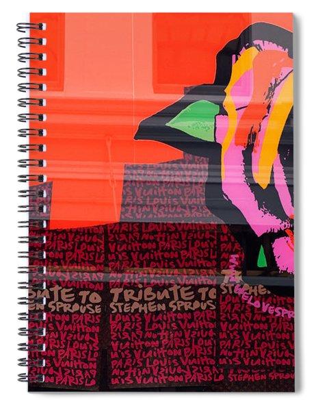 Lv Bag Spiral Notebook