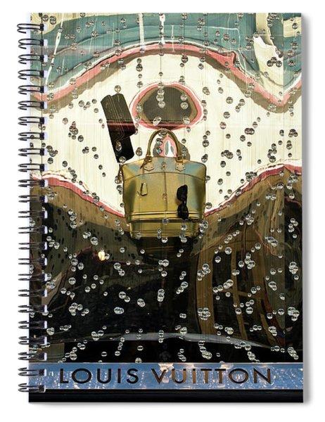 Lv Gold Bag 01 Spiral Notebook