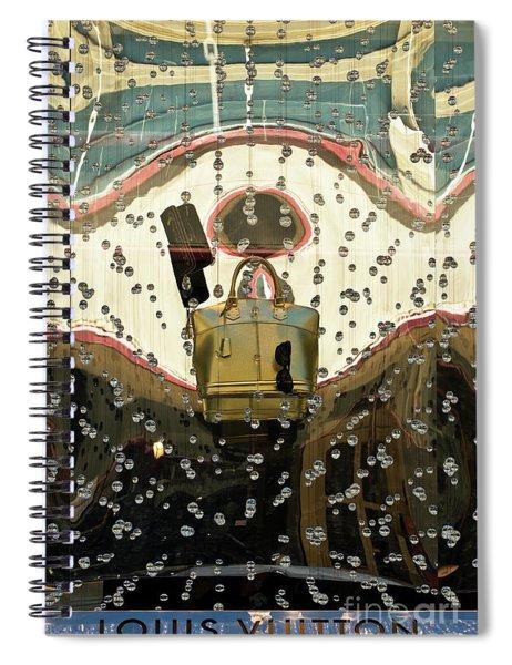 Lv Gold Bag 02 Spiral Notebook