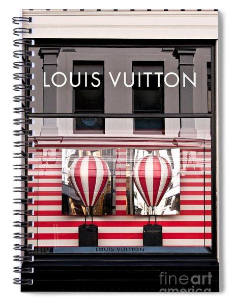 Lv Hot Air Balloons 02 Spiral Notebook