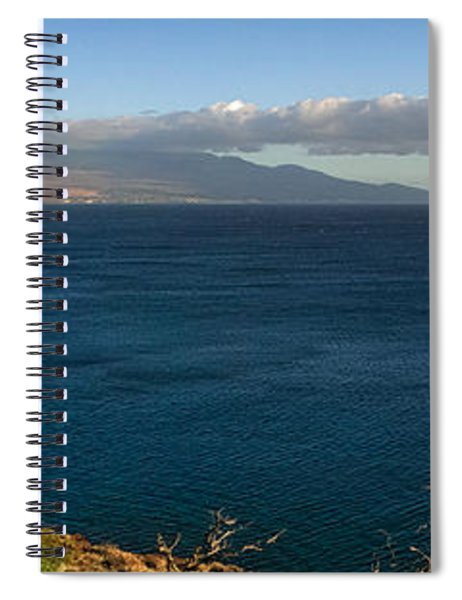 Maalea Bay Overlook   Spiral Notebook