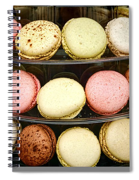 Macaroons Spiral Notebook