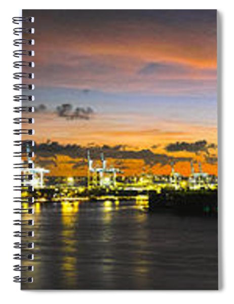 Macarthur Causeway Bridge Spiral Notebook