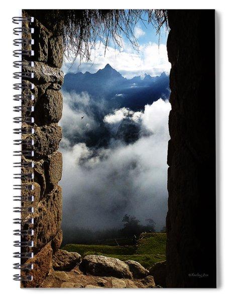 Machu Picchu Peru 4 Spiral Notebook