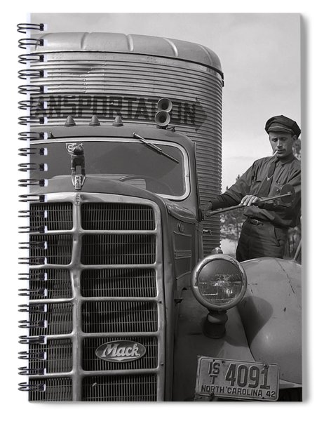 Mack Truck  1943 Spiral Notebook