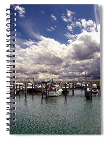 Mackinaw City Marina Spiral Notebook