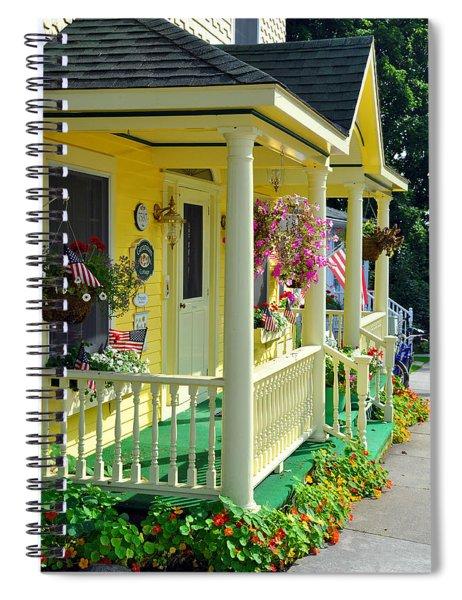 Mackinac Island Americana Spiral Notebook