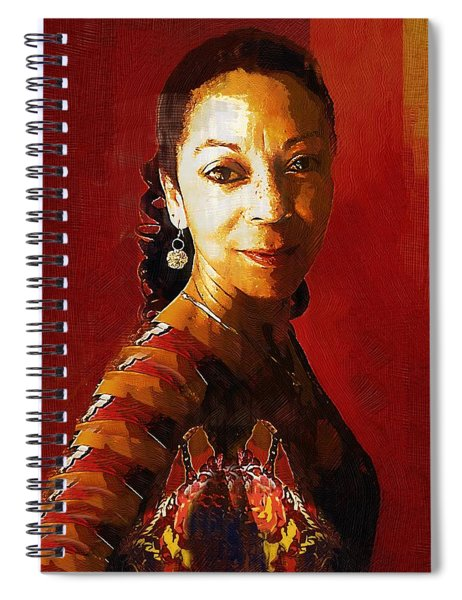 Madame Exotic Spiral Notebook