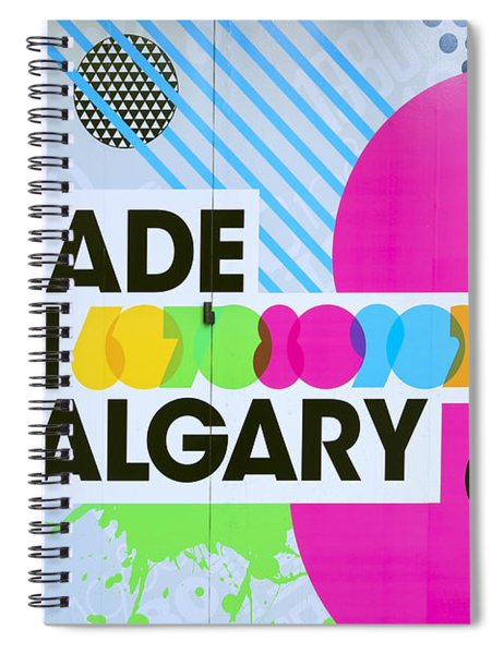 Made In Calgary Spiral Notebook