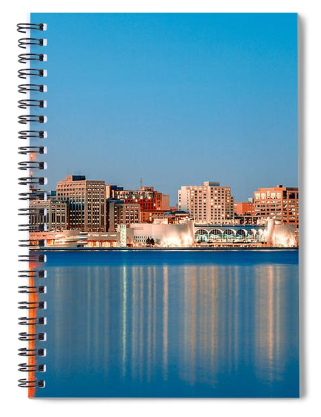 Madison Skyline Spiral Notebook