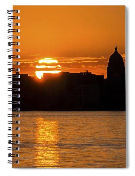 Madison Sunset Spiral Notebook