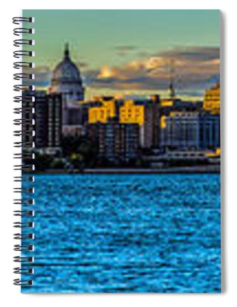 Madison Twilight Panorama Spiral Notebook