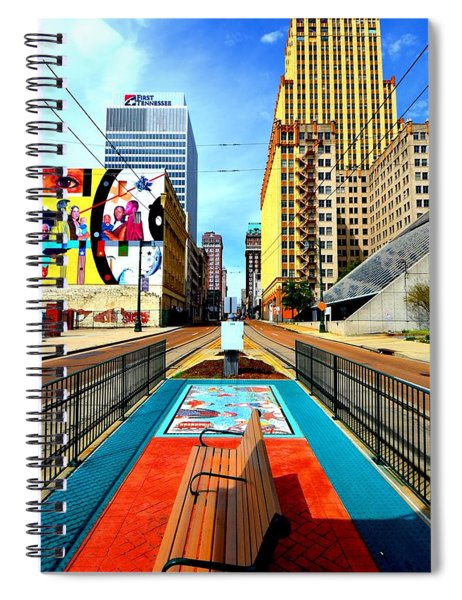 Madison's Memphis Spiral Notebook
