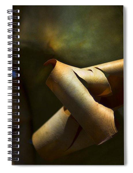 Madrona Tree Bark Spiral Notebook