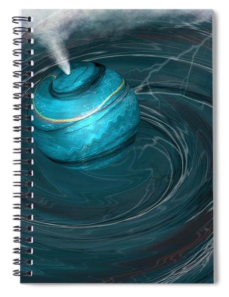 Maelstrom Spiral Notebook