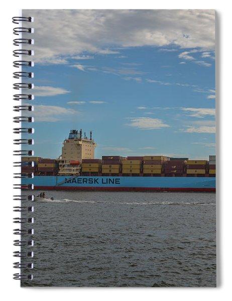 Ocean Going Freighter Spiral Notebook