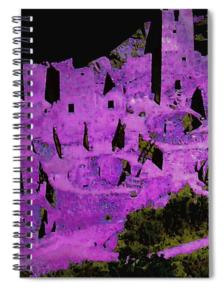 Magenta Dwelling Spiral Notebook