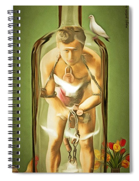 Magic Potion Number 9 Patent Pending 20140922 Spiral Notebook