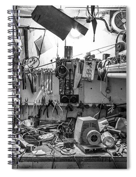 Magic Workshop Spiral Notebook