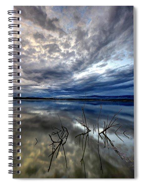 Magical Lake - Vertical Spiral Notebook