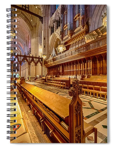 Magnificent Cathedral I Spiral Notebook