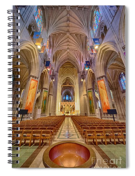 Magnificent Cathedral V Spiral Notebook