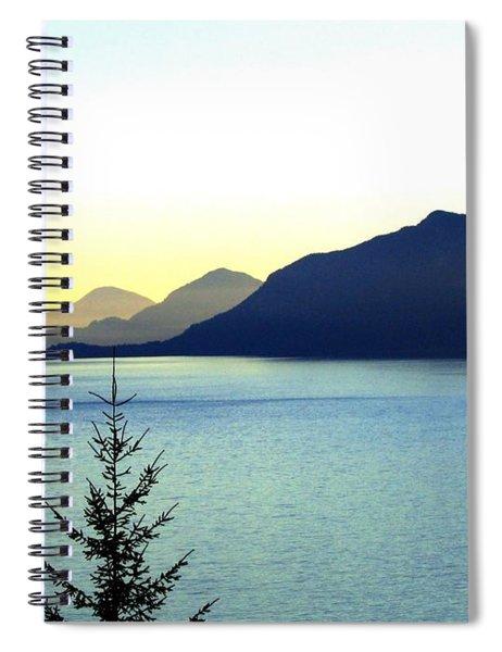 Magnificent Howe Sound Spiral Notebook