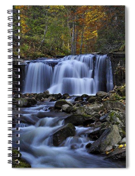 Magnificent Waterfall Spiral Notebook