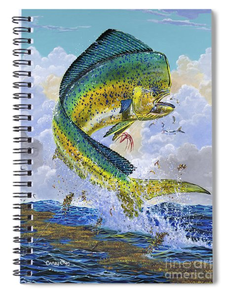 Mahi Hookup Off0020 Spiral Notebook