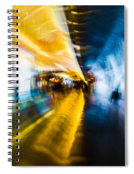 Main Access Tunnel Nyryx Station Spiral Notebook