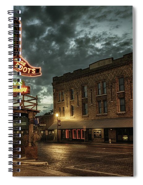 Main And Exchange Spiral Notebook