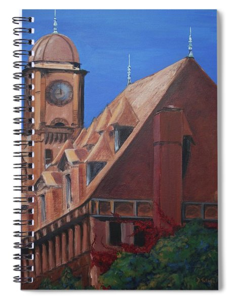 Main Street Station Spiral Notebook