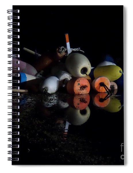Maine After Dark Spiral Notebook