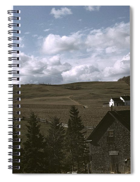 Maine Farmland, 1940 Spiral Notebook