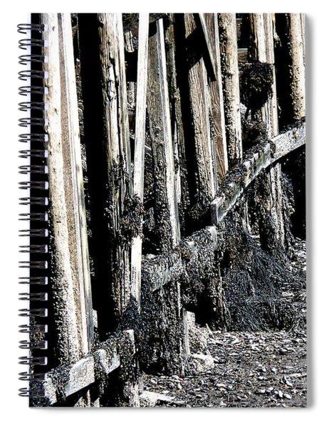 Maine Pier Spiral Notebook