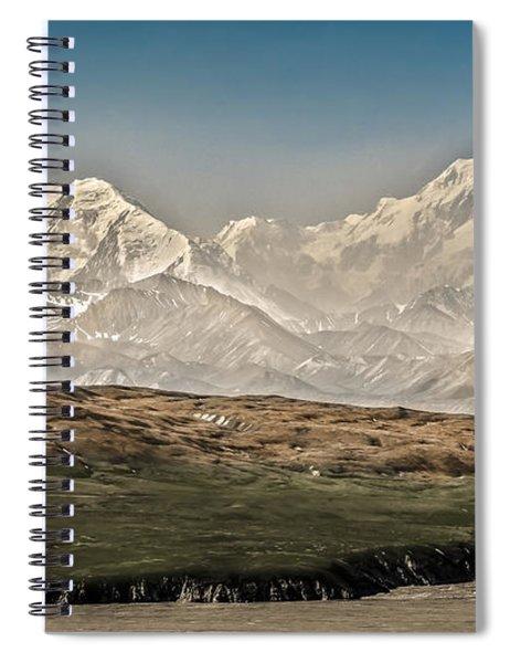 Majestic Mount Mckinley Spiral Notebook