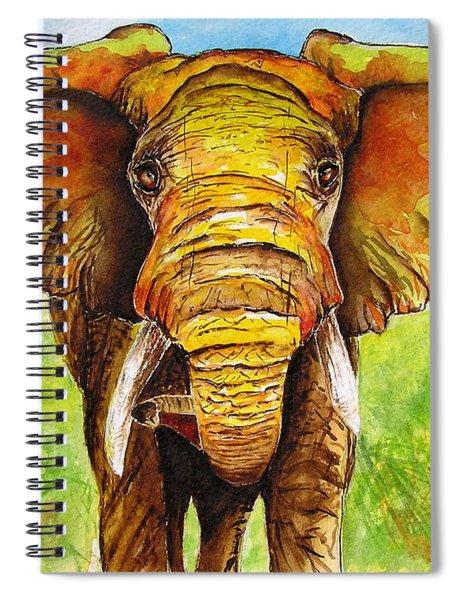Major Domo Spiral Notebook