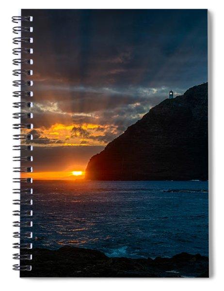 Makapuu Sunrise Spiral Notebook