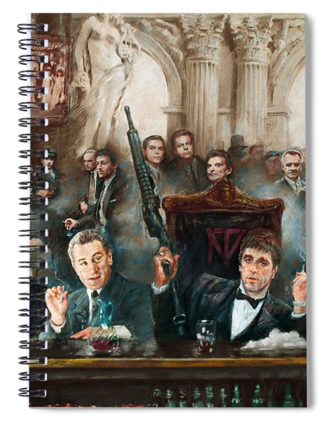 Make Way For The Bad Guys Col Spiral Notebook