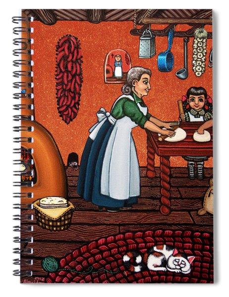 Making Tortillas Spiral Notebook