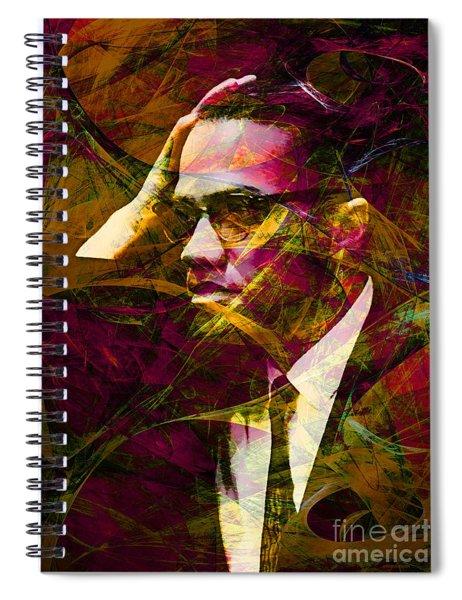 Malcolm X 20140105 Spiral Notebook